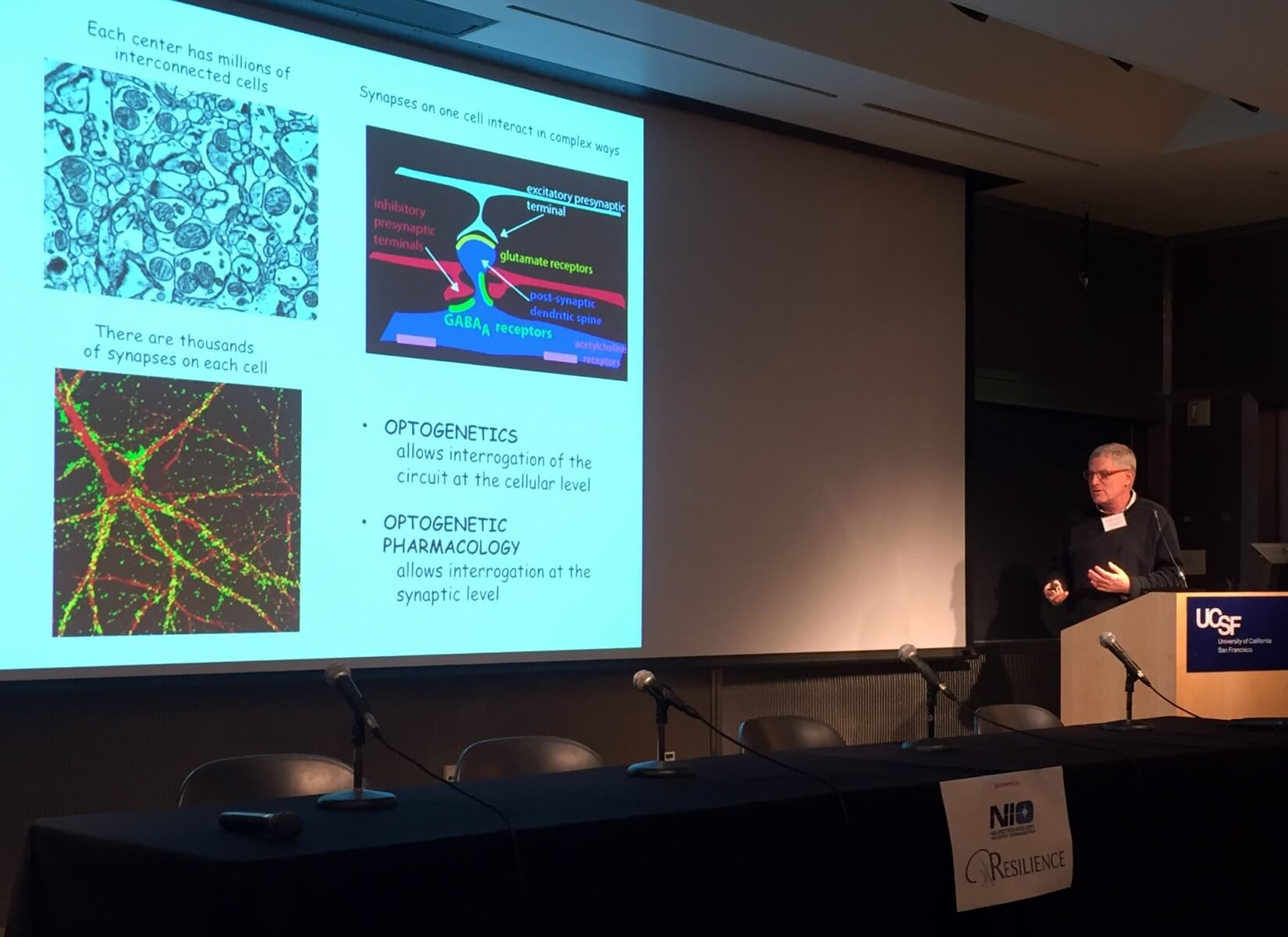 BRAINseed awardee Rich Kramer explains optogenetic pharmacology, a method of controlling synaptic transmission.